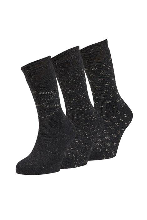 3 pack hrejivých ponožiek Dino