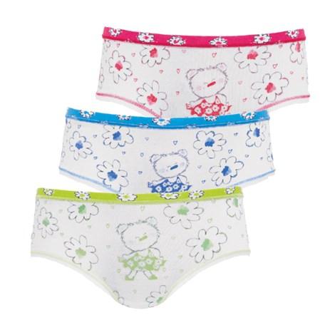 3 pack dievčenských nohavičiek Flower