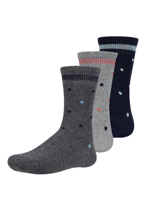 3 pack detských ponožiek Tinryn