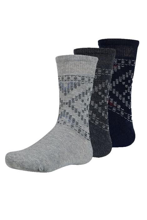 3 pack detských ponožiek Maend