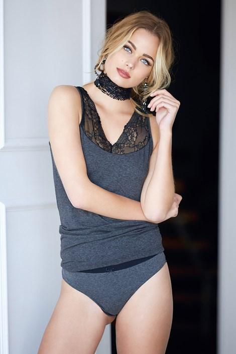 Dievčenský komplet Lace Grey