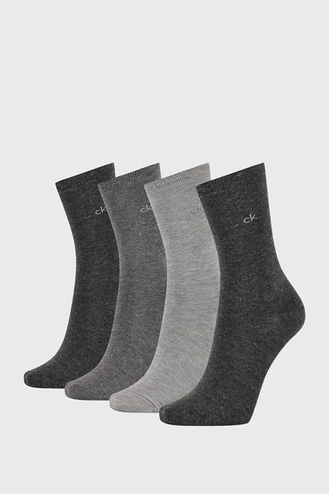 4 PACK dámskych ponožiek Calvin Klein Lola I