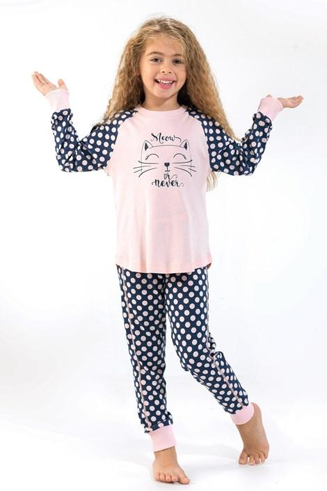 Dievčenské pyžamo Blackspade Meow