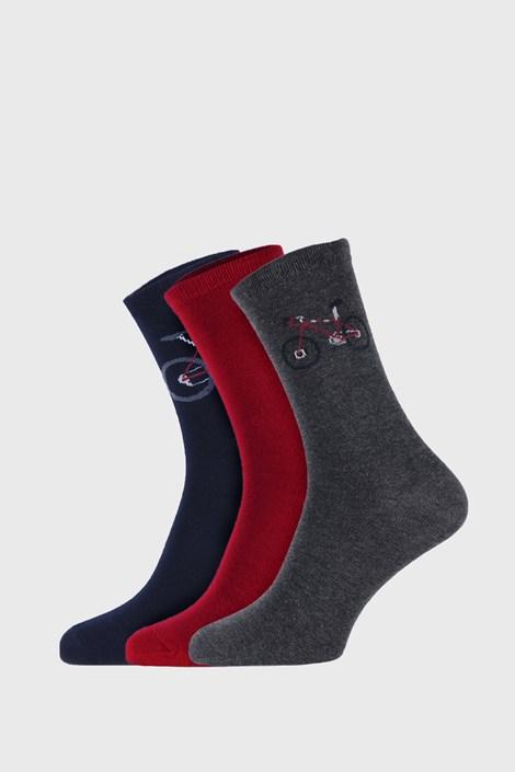 3 PACK detských ponožiek Funny