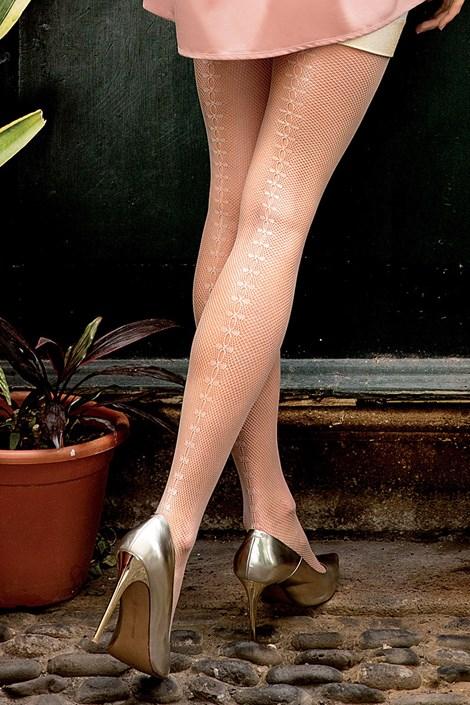 Vzorované pančuchové nohavice Brigitte 11