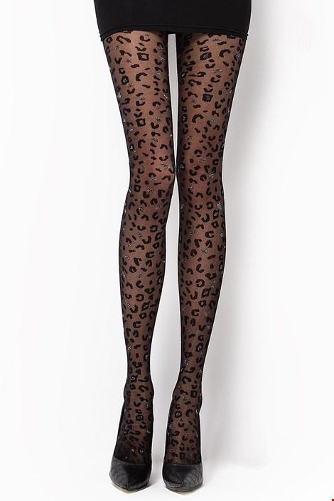 Vzorované pančuchové nohavice Camilla 30 DEN