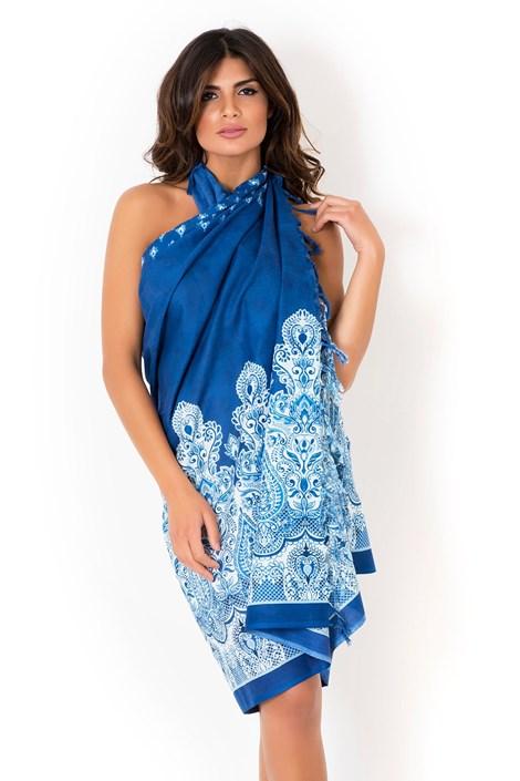 Plážová šatka, pareo značky David Beachwear kolekcia Kerala 180x110cm