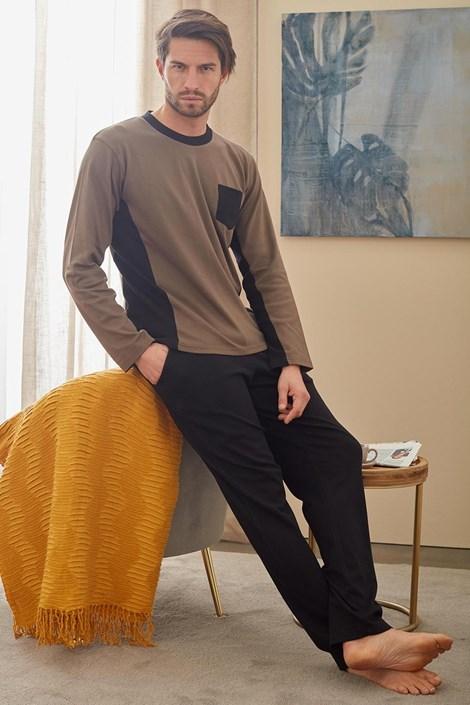 Čierno - zelené pyžamo Christopher