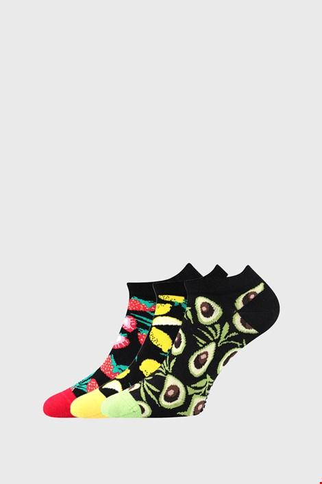 3 PACK dámskych ponožiek s ovocím