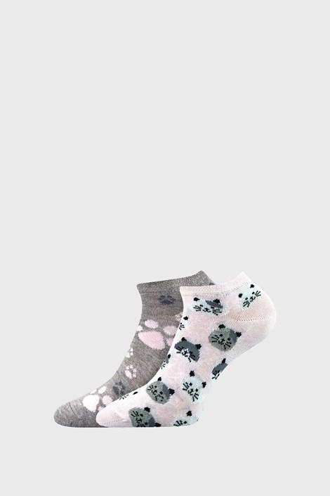 2 PACK dámskych ponožiek Cats