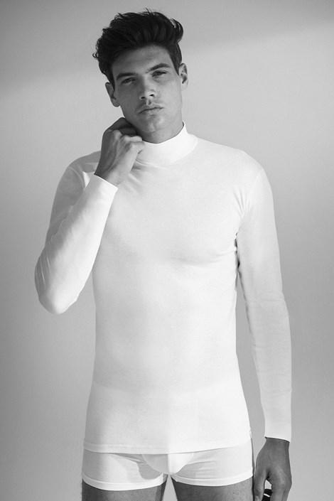 Pánske tričko s dlhým rukávom 1015