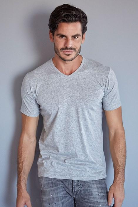Pánske tričko ENRICO COVERI 1111 voľný strih