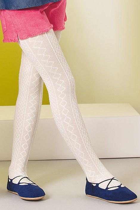 Dievčenské bavlnené pančuchové nohavice Fifi