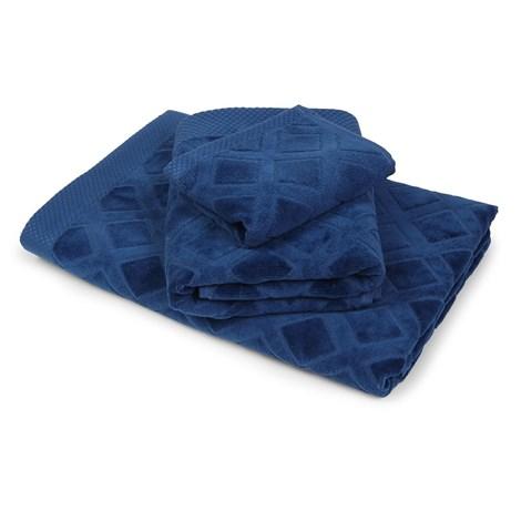 Veľký uterák Charles modrý
