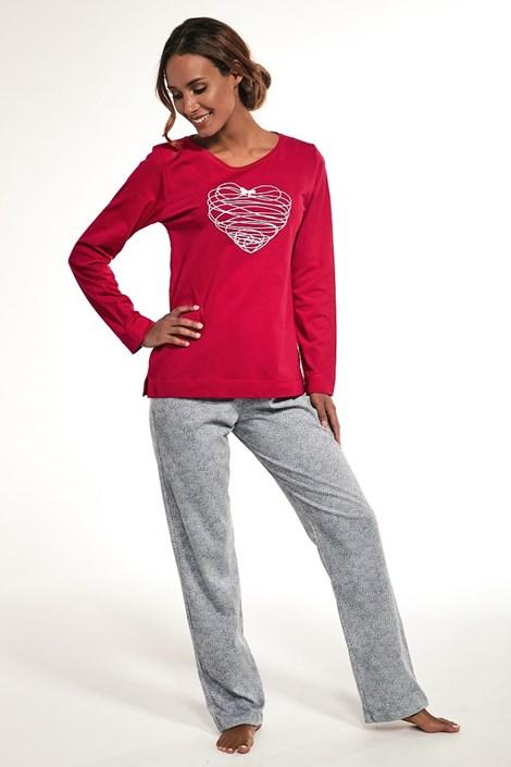 Dámske bavlnené pyžamo Heart