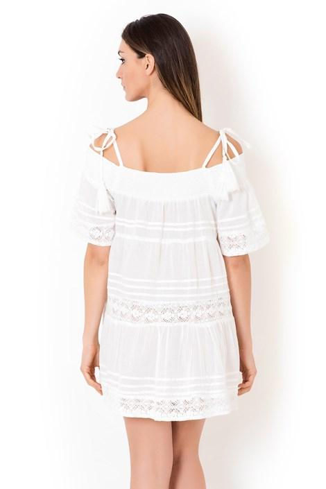 d4c30e38c8e1 Dámske talianske plážové šaty Iconique IC800 White