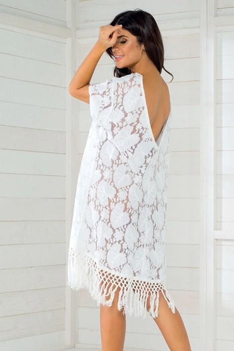 b909cf6178f4 Dámske letné šaty talianskej značky Iconique IC8011 White