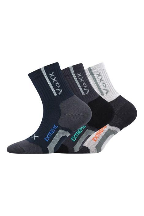 3 pack športových chlapčenských ponožiek Josífek
