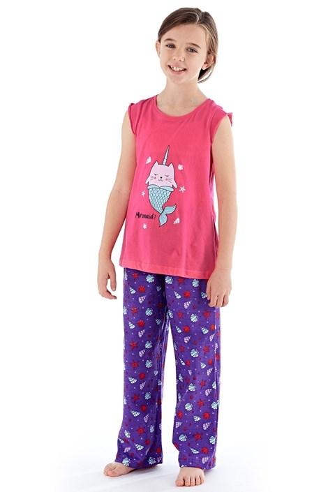 Dievčenské pyžamo Mermaid