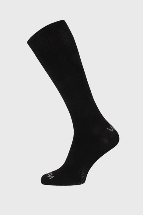 Čierne kompresné podkolienky Lithe