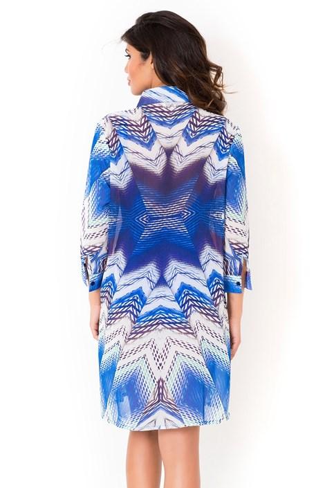 102d91a5617a Dámske talianske košeľové plážové šaty Miradonna Beach