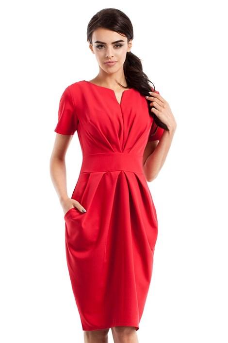 90aeedc58dc3 Dámske elegantné šaty s vreckami Moe234