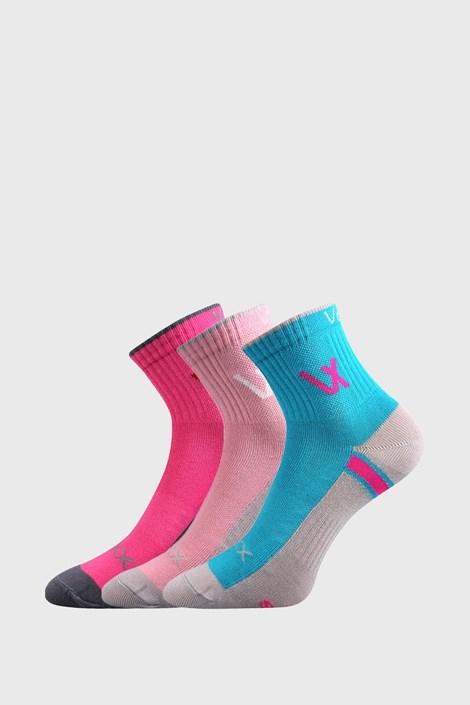 3 PACK dievčenských športových ponožiek VOXX Neonik