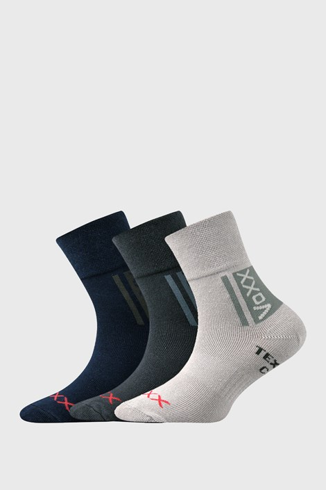 3 PACK chlapčenských ponožiek VOXX Optifanik