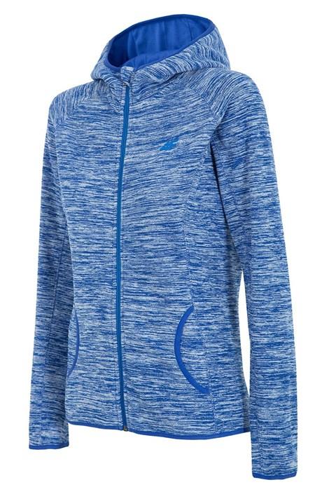 Dámska športová fleecová mikina 4F Blue