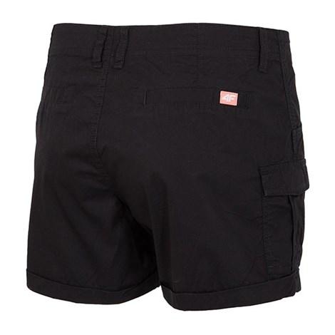 Dámske športové šortky 4f Black cotton