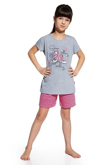 Dievčenské pyžamo Shoes