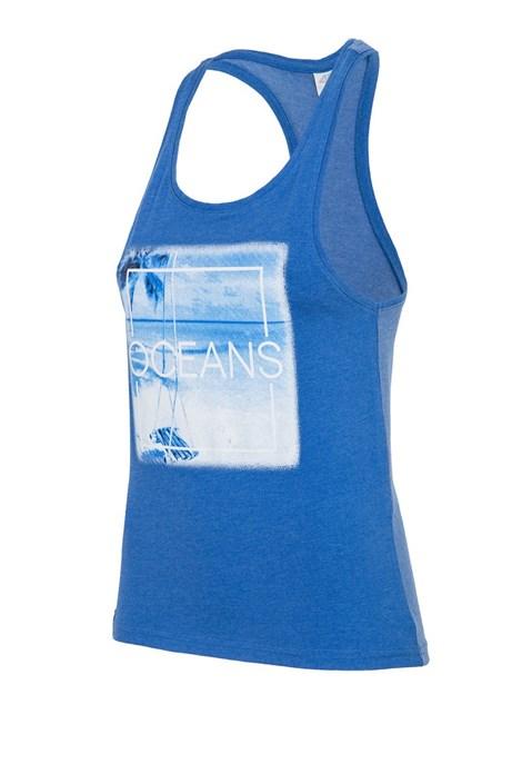 Dámske tielko 4f Oceans Blue