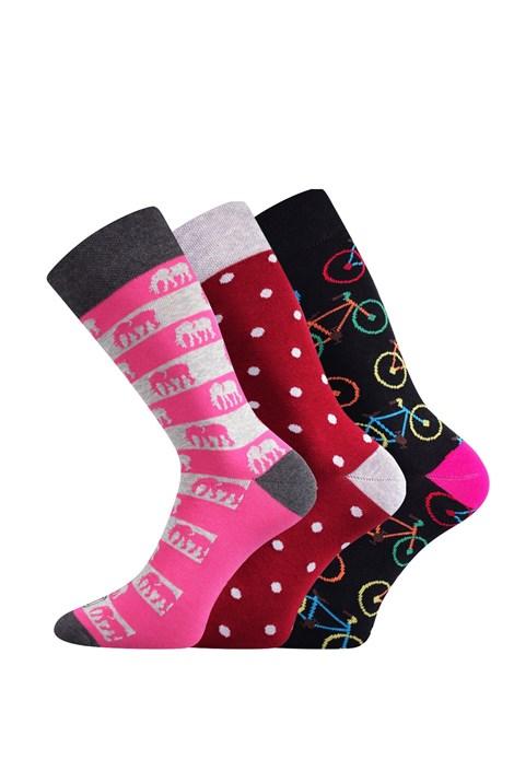 3 pack dámskych ponožiek Elin