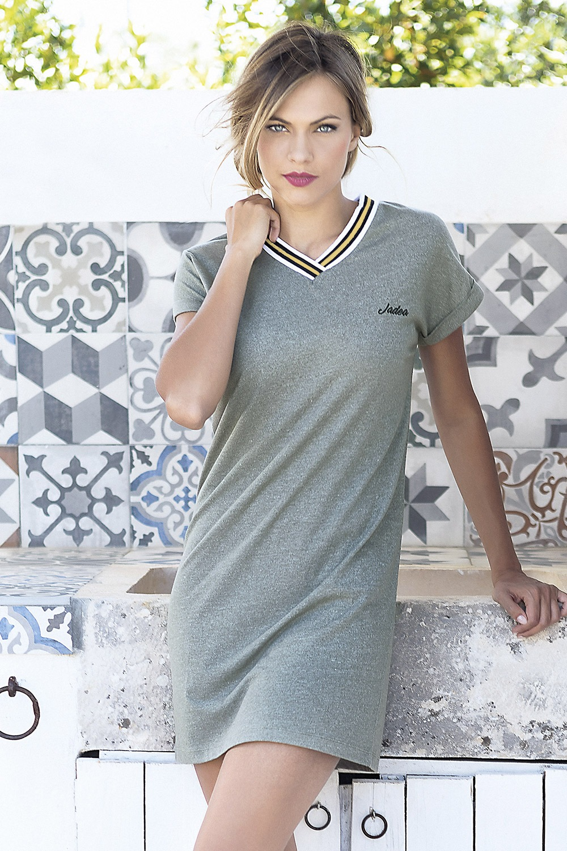 d3e25e968bf1 Dámske letné šaty Corfu khaki