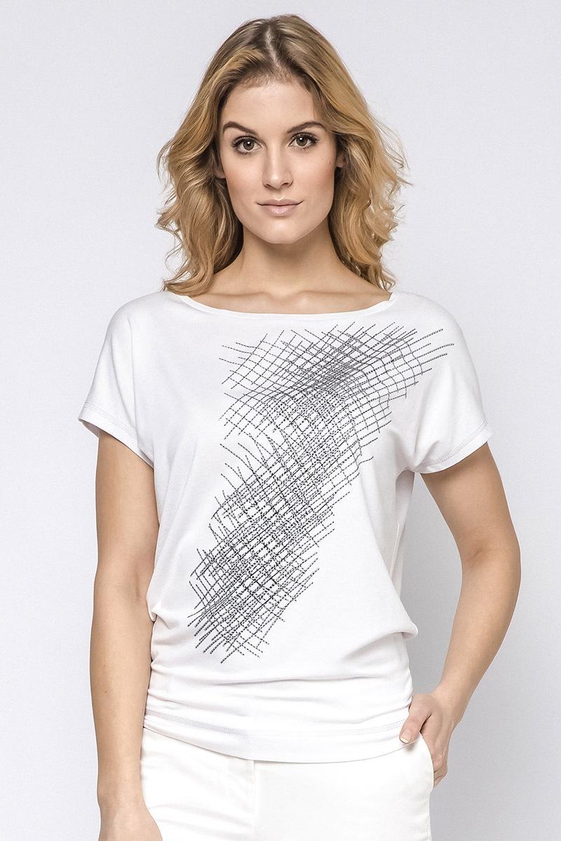 00051b6ac317 Dámske elegantné tričko Hettie s krátkymi rukávmi