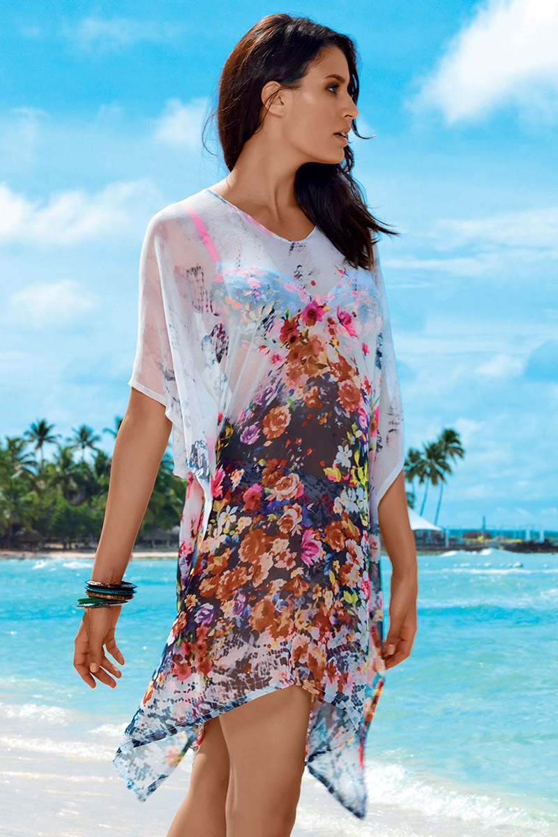 d22120b56495 Dámske letné plážové šaty Tarja z kolekcie David Mare