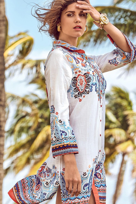 75af7698a138 Dámske letné košeľové šaty David Beachwear Jaipur