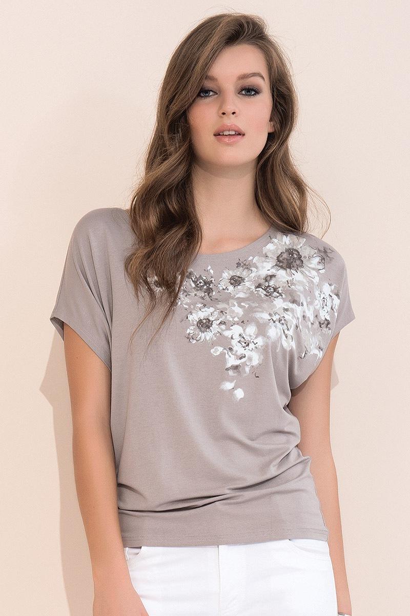 67683e396 Dámske luxusné tričko Gina Beige | Astratex.sk