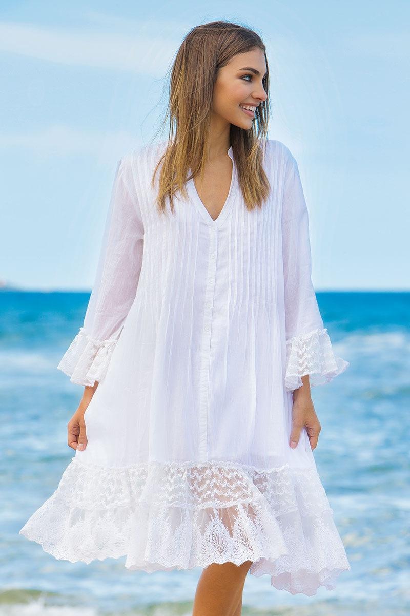 e14534c6aff5 Dámske letné košeľové šaty Serena z kolekcie Iconique