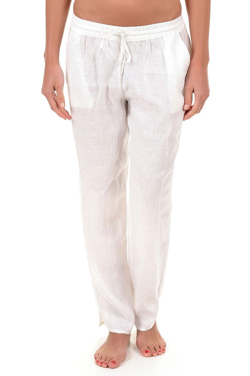 893d11cff259 Dámske ľanové nohavice Sherie z kolekcie Iconique