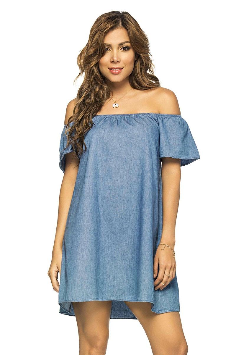 2b17fe4910ba Plážové letné šaty Jeans z kolekcie Phax
