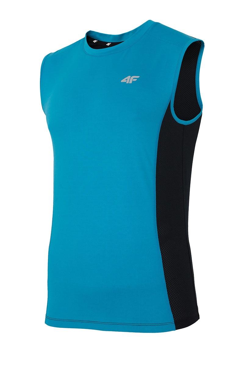 0a9423fc9ea0 Pánske športové tričko 4F Dry Control Blue