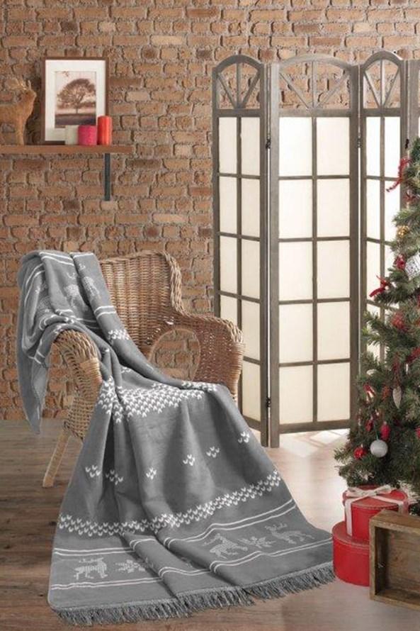 Vianočná deka Sob