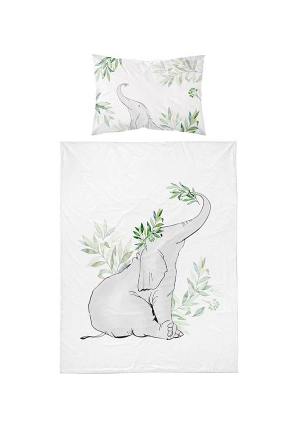 Bambusové obliečky do detskej postieľky Sloník