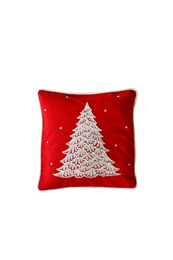 Obliečka na vankúšik Vianočný strom