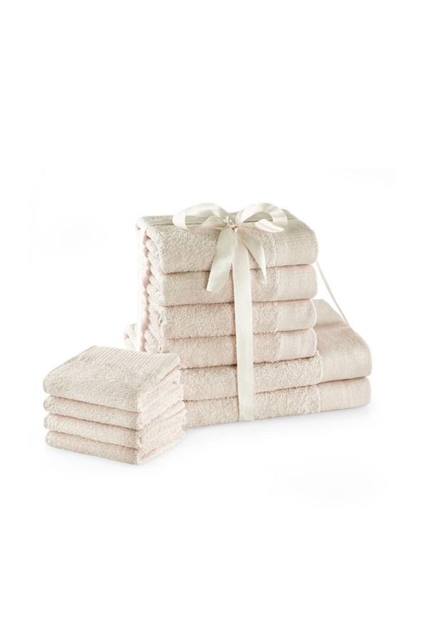 Súprava uterákov Amari Family Ecru