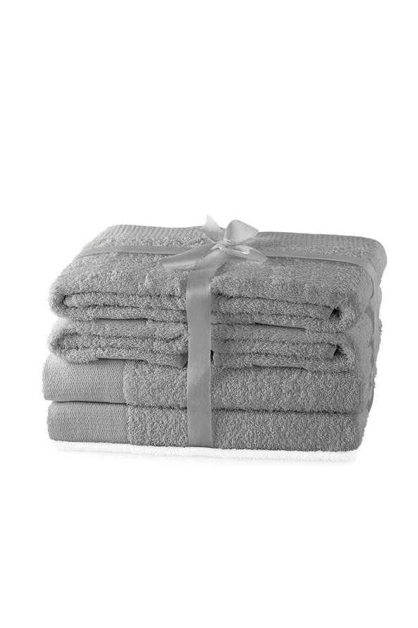 Súprava uteráko Amari sivá M