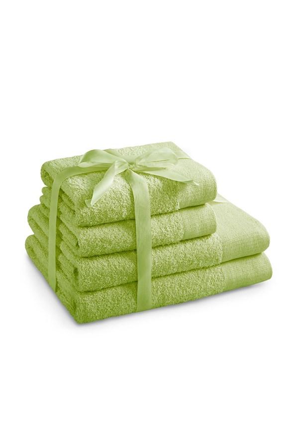 Törölköző szett, lime zöld