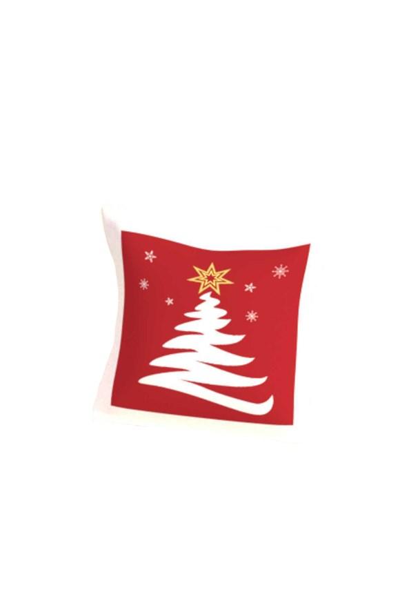 Dekoračný vankúšik s výplňou Vianočný strom