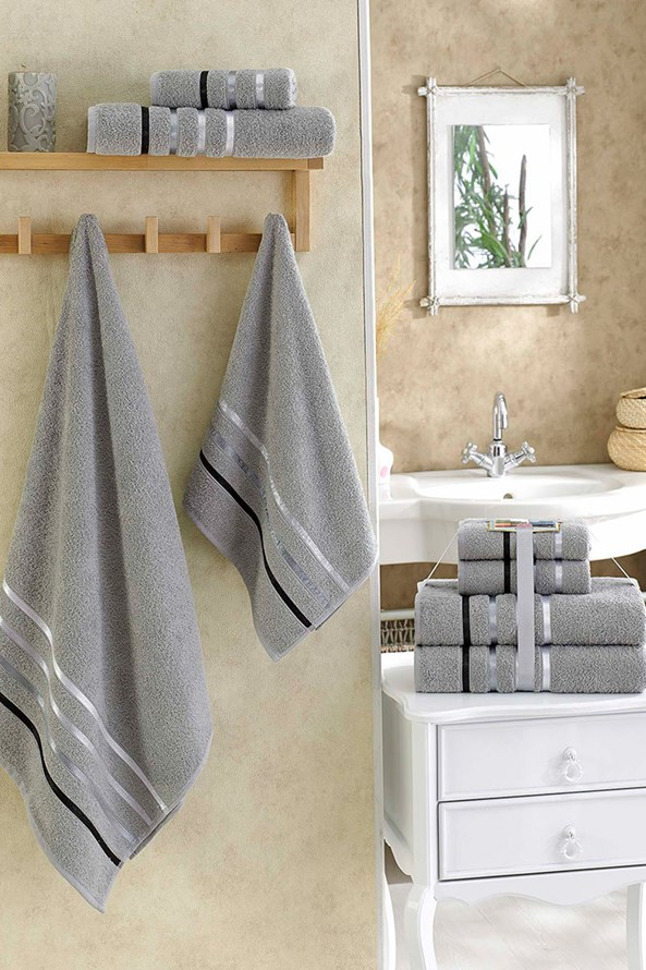 Súprava uterákov Bale sivá